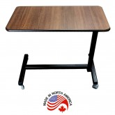 Adjustable Height Serving Table/Overbed Table