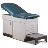 Space Saver Treatment Table with Step Stool