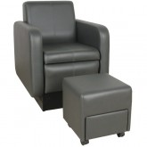 Pedicure Chair with Ottoman