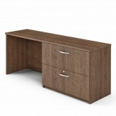 Credenza with file